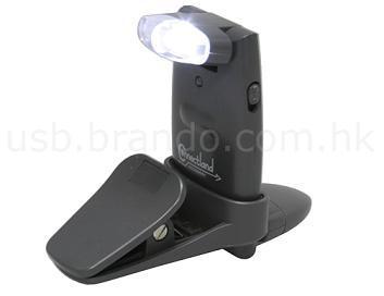 Luz práctica cargable vía USB