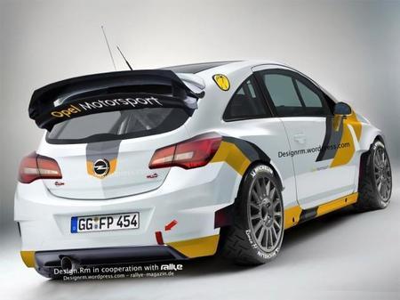 Opel Corsa E WRC