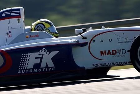 Andy Soucek gana la primera en F2