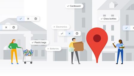 Google Maps te ayudará a reciclar con esta novedad