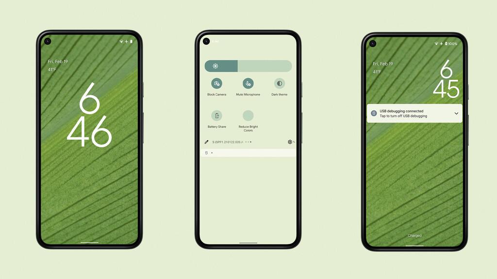 Android 12 adaptará el tema de sistema a tu fondo de pantalla