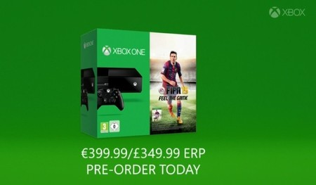FIFA volverá a repetir bundle con Xbox One, en este caso con FIFA 15 [GC 2014]