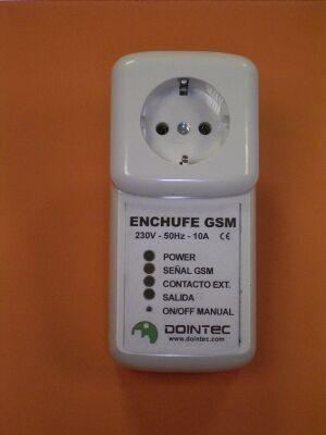 Enchufe GSM