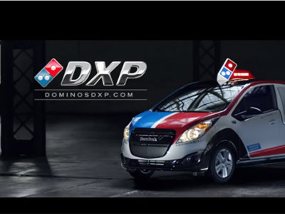 El auto perfecto para repartir pizza es un Spark y Dominos lo sabe