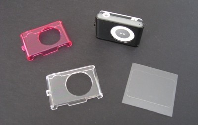 Fundas Power Support Crystal Jacket para el iPod Shuffle 2ª Gen