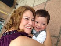 La foto de tu bebé: Leo con mamá