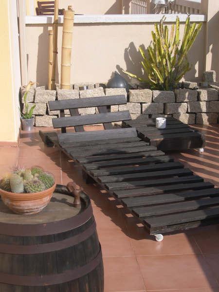 Hazlo tú mismo: muebles de exterior con palés