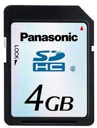 CeBIT 2006: Panasonic y su tarjeta SDHC de 4 GB