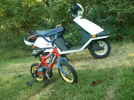 Bici Vs Scooter