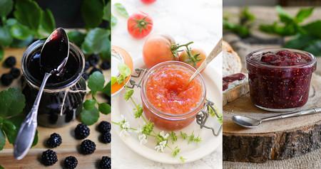 Once recetas de mermeladas y confituras para aprovechar al máximo la explosión de frutas del final del verano