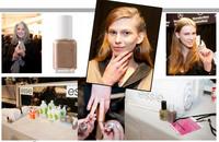 Essie en la New York Fashion Week: backstage