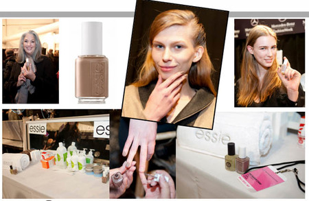 Essie en la New York Fashion Week: backstage