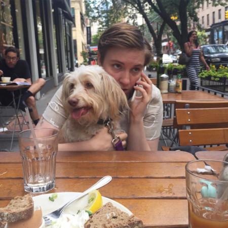 Lena Dunham y Lamby