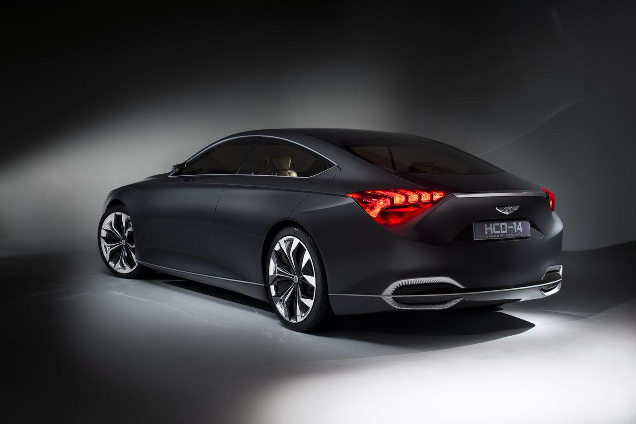 Foto de Hyundai HCD-14 Genesis Concept (2/15)