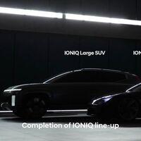 El Hyundai IONIQ 7 se asoma por primera vez: un SUV eléctrico grande que debería llegar en 2024
