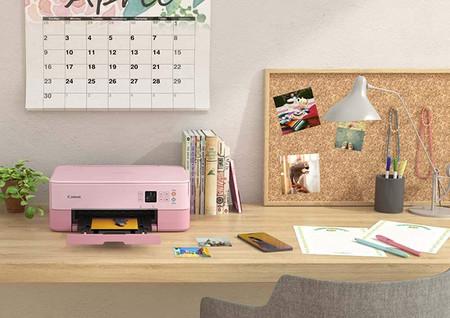 Impresora Multifuncional Canon Pixma Ts5352 Rosa