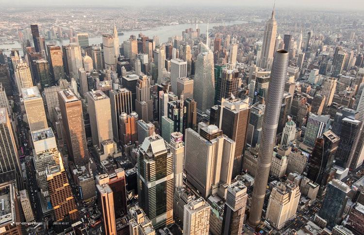El skyline de Nueva York podría cambiar con este nuevo (y vanguardista) rascacielos cilíndrico