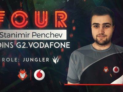 G2 Vodafone ficha un nuevo jungla tras los graves problemas de salud de Confysion