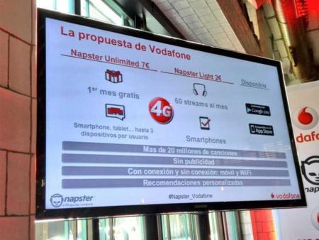 Los clientes de Vodafone disfrutarán música en streaming con Napster Unlimited y Napster Light