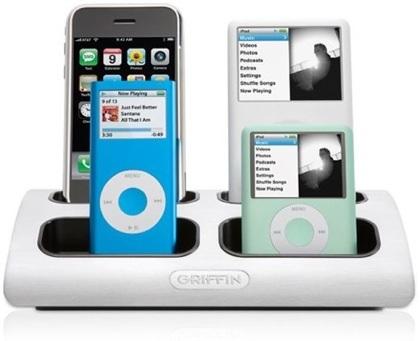 Griffin PowerDock: recarga todos tus iPod/iPhone a la vez