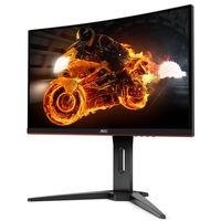 AOC presenta un nuevo monitor gaming QHD, es el CQ32G1, llega con 31,5 pulgadas, panel curvo y AMD FreeSync