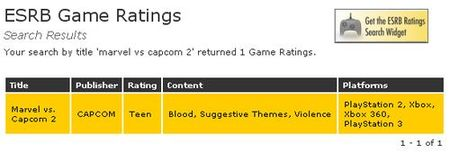 Rumor: 'Marvel vs. Capcom 2' llegará a PSN y XBLA