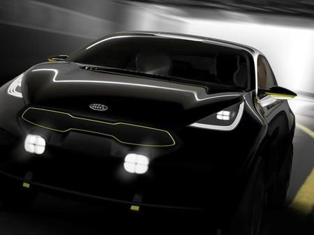 Kia deja entrever el concept car que tiene preparado para Frankfurt