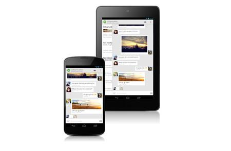 Google Hangouts para Android se actualiza, envía SMS y comparte tu ubicación