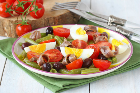 Anchoas en Ensalada
