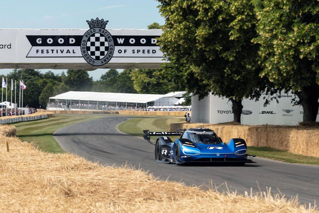 El Volkswagen ID.R ya es el coche más rápido en la colina de Goodwood, con un tiempo de 39,9 segundos