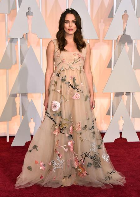 Keira Knightley Valentino Oscar 2015