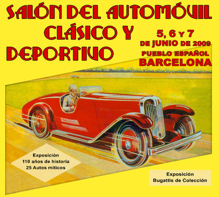 I Salón del automóvil clásico y deportivo