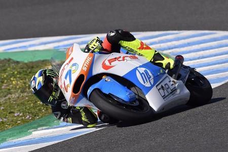 Lorenzo Baldassarri Test Jerez 2018