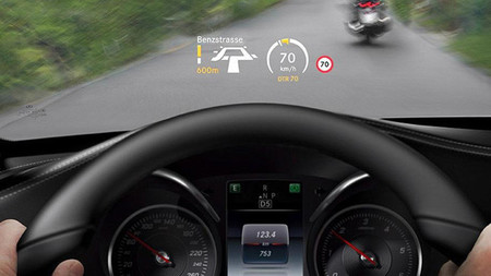 Mercedes-Benz Clase C 2014, Head Up Display
