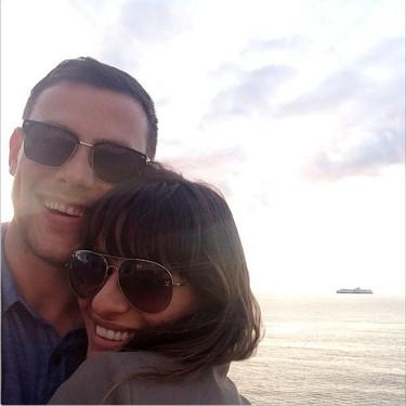 Lea Michele vuelve a hablar: 'Cory siempre estará en mi corazón'