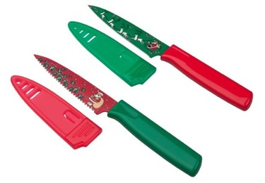 Los cuchillos Christmas de Kuhn Rikon, ¡se acerca la Navidad!