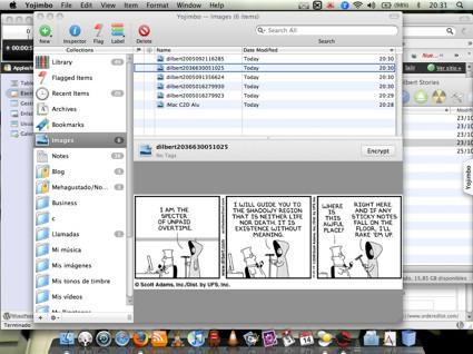 Yojimbo 1.5, ahora con imágenes