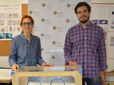 Un madrileño diseña una incubadora de bajo coste para países en vías de desarrollo