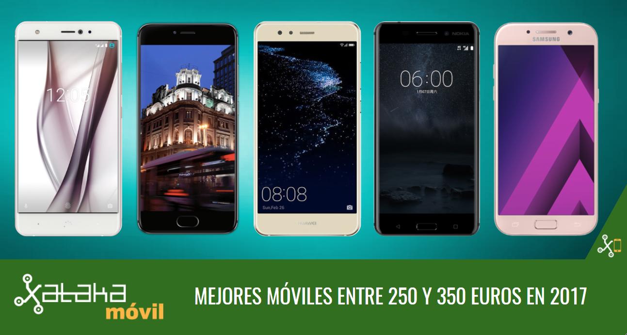 bdbfd59c777 Los mejores móviles entre gama media y gama alta alrededor de 300 euros en  2017