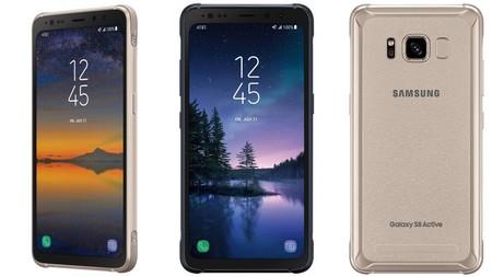 Galaxy S8 Active: toda la potencia y elegancia del estandarte de Samsung, pero en formato ultra-resistente