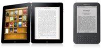 El iPad acorta distancias con el Kindle de Amazon como lector de libros electrónicos