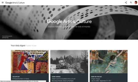 """Google """"quiere"""" que te conviertas en un experto en Historia del Arte"""