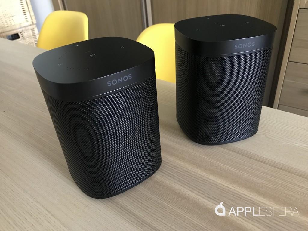 Análisis Sonos One en formato estéreo: por fin un altavoz apto de exprimir AirPlay 2 y el sonido multiroom