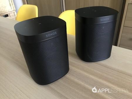 Análisis Sonos One en formato estéreo: por fin un altavoz capaz de exprimir AirPlay 2 y el sonido multiroom