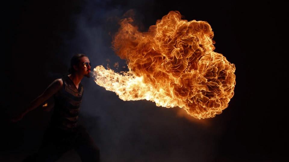Inferno: un espectacular vídeo al estilo Matrix realizado con 50 cámaras