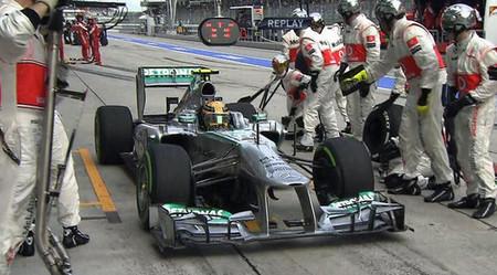 Sam Michael echó a Lewis Hamilton del box de McLaren durante la pretemporada