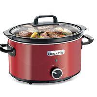 En la semana del Black Friday de Amazon tenemos esta oferta del día en la olla de cocción lenta Crock-Pot SCV400RD por 29,98 euros