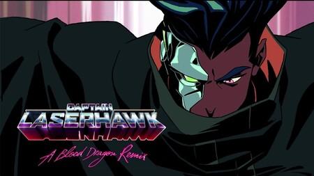 Netflix y Ubisoft continuarán su idilio con 'Captain Laserhawk: A Blood Dragon Remix', una locura animada de espíritu retro y con una pinta brutal
