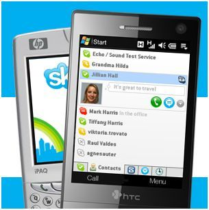 Skype 2.5 beta para Windows Mobile