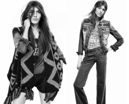 Colección Zara joven otoño-invierno 2010/2011: un estilo folk y vaquero
